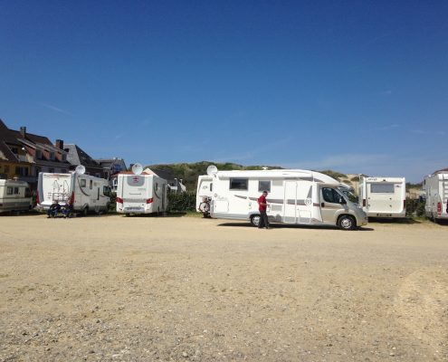 Camperplaats Aire de Camping-Car Fort-Mahon-Plage