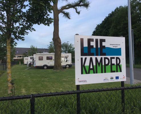 Camperplaats Leie Kamper