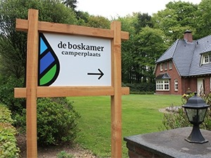 Camperplaats De Boskamer