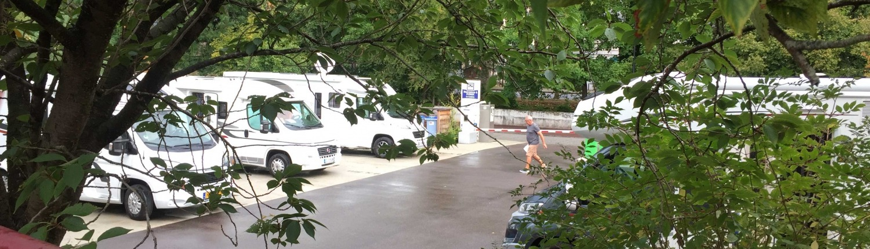 Aire de Camping Car Le Cadran in Frankrijk